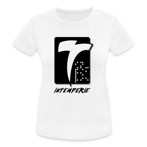 intemperie logo final fondo blanco - Camiseta mujer transpirable