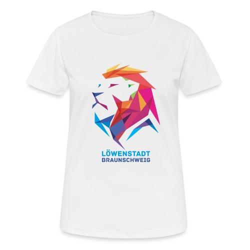 Löwenstadt Design 7 - Frauen T-Shirt atmungsaktiv