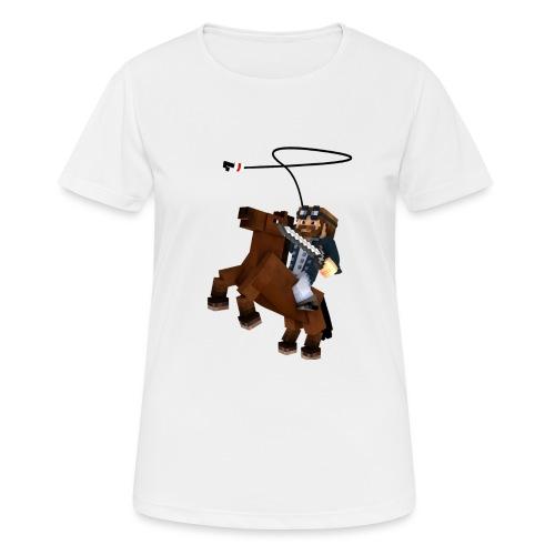 Titan y su rocinante café - Camiseta mujer transpirable