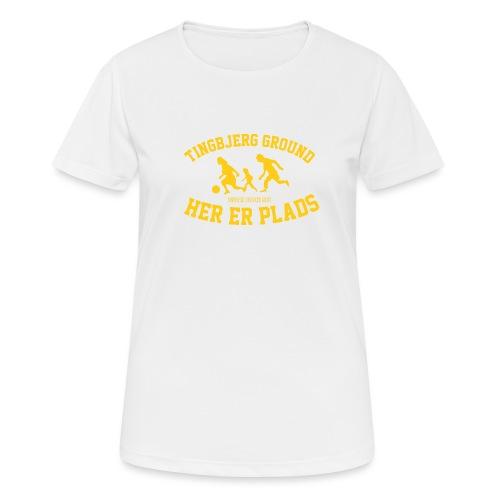 Tingbjerg Ground - her er plads - Dame T-shirt svedtransporterende