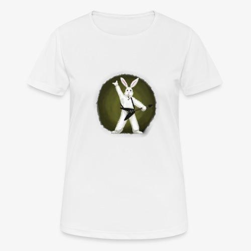 Metal Bunny - Pustende T-skjorte for kvinner