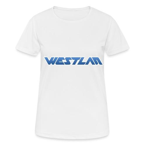 WestLAN Logo - Women's Breathable T-Shirt