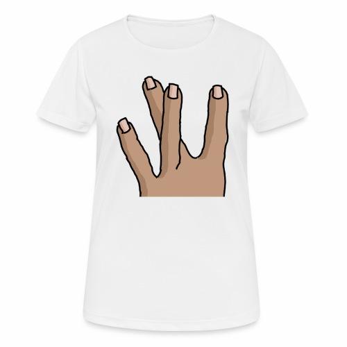 WestSide Fingers © - Women's Breathable T-Shirt