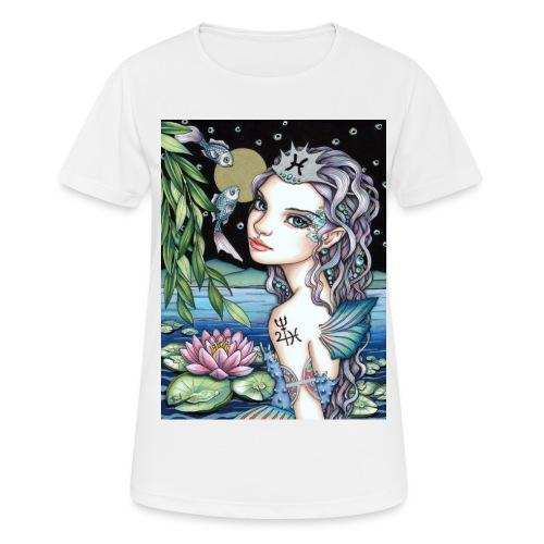 Pisces girl Fische Mädchen - Women's Breathable T-Shirt