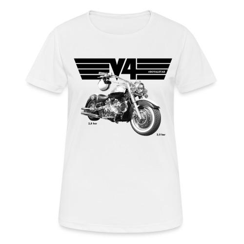 Royal Star Chopper WINGS 2 - Frauen T-Shirt atmungsaktiv
