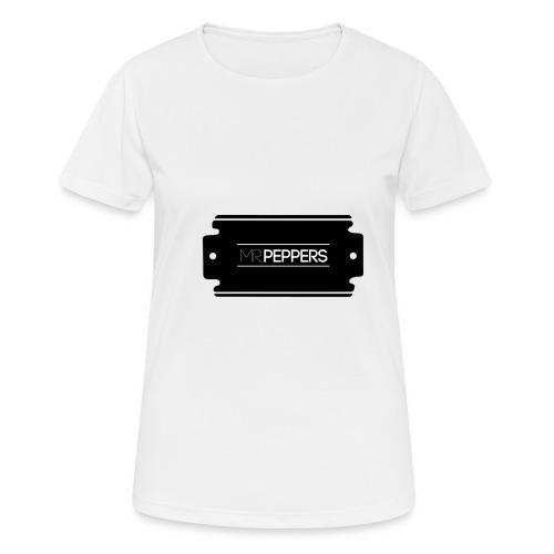 MR PEPPERS Logo classic - Frauen T-Shirt atmungsaktiv