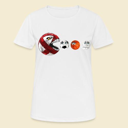 Radball | Cycle Ball RedMan - Frauen T-Shirt atmungsaktiv