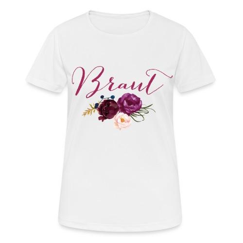 Brautshirt Boho - Frauen T-Shirt atmungsaktiv