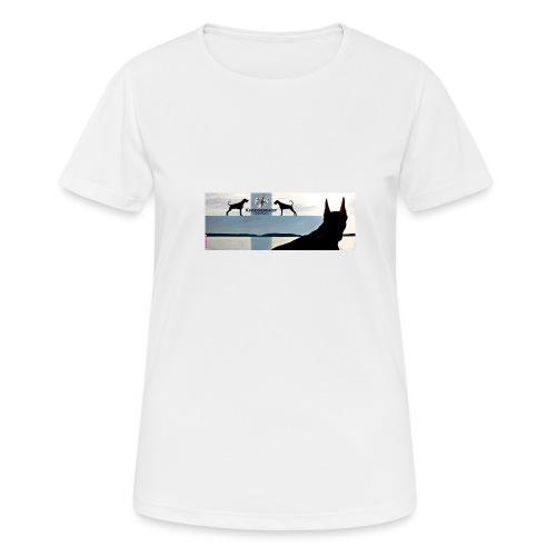 FBtausta - naisten tekninen t-paita