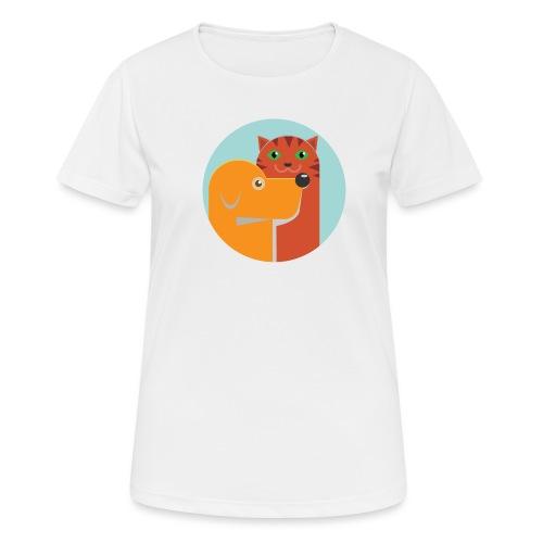 Tierfreund - Frauen T-Shirt atmungsaktiv