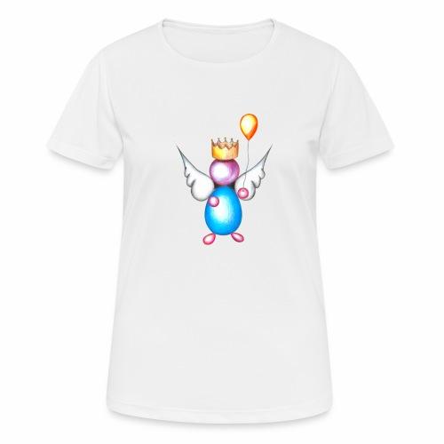 Mettalic Angel geluk - Vrouwen T-shirt ademend actief