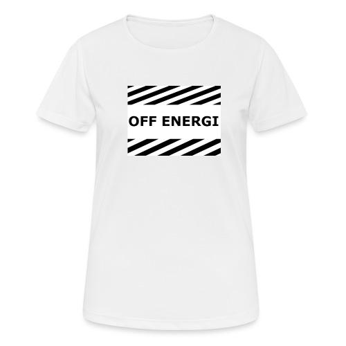 OFF ENERGI officiel merch - Andningsaktiv T-shirt dam