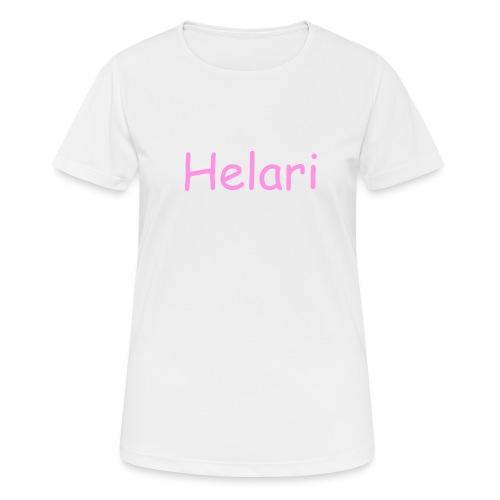 Helari Merch - naisten tekninen t-paita
