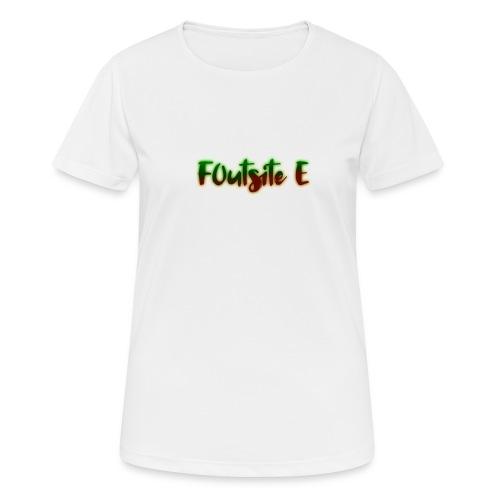 F0utsite E (HALLOWEEN Edition) - Andningsaktiv T-shirt dam