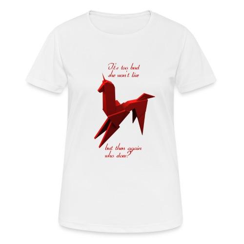 UnicornioBR2 - Camiseta mujer transpirable
