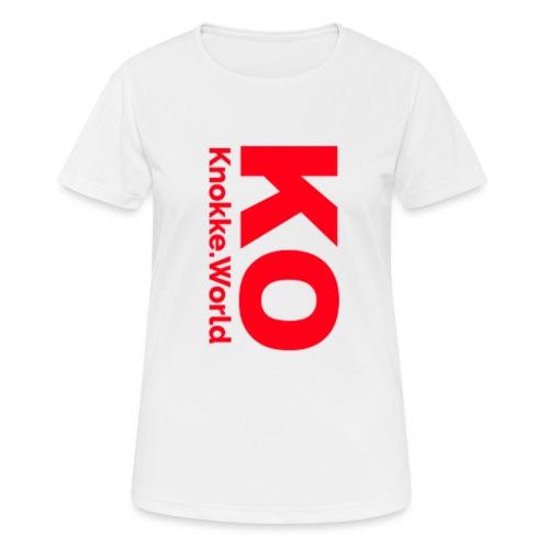 ko hoodie - vrouwen T-shirt ademend