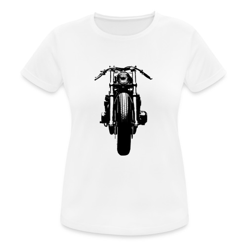 Motorcycle Front - Women's Breathable T-Shirt