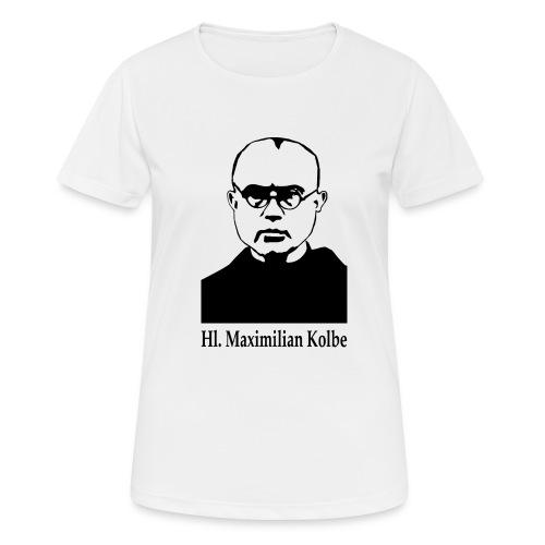 Hl. Maximilian Kolbe - Frauen T-Shirt atmungsaktiv