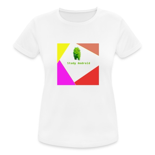 Study Android - Camiseta mujer transpirable