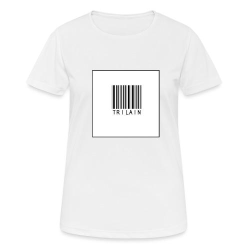 Trilain - Standard Logo T - Shirt - Vrouwen T-shirt ademend actief