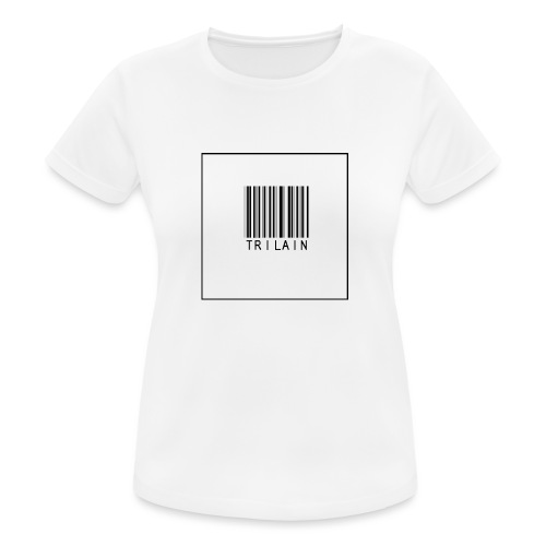 Trilain - Standard Logo T - Shirt - vrouwen T-shirt ademend