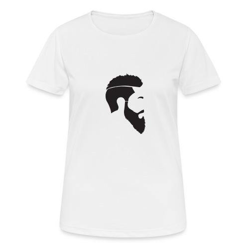 HEAD WHITE T-SHIRT - Andningsaktiv T-shirt dam