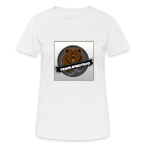 Team Ipnotico - Andningsaktiv T-shirt dam