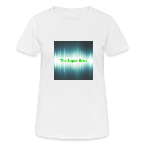 The Super Bros - Fan Bamse - Dame T-shirt svedtransporterende