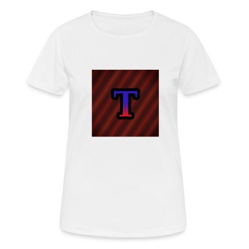 Logo - Vrouwen T-shirt ademend actief