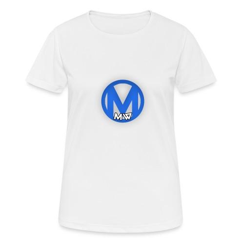 MWVIDEOS KLEDING - Vrouwen T-shirt ademend actief