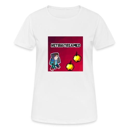 Logo kleding - Vrouwen T-shirt ademend actief