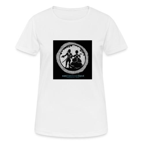 SHB - Näkymätön mies - naisten tekninen t-paita