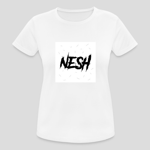 Nesh Logo - Frauen T-Shirt atmungsaktiv