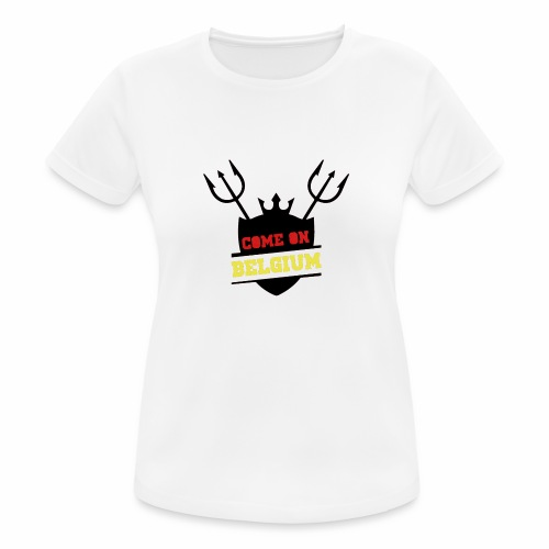 Come On Belgium - T-shirt respirant Femme