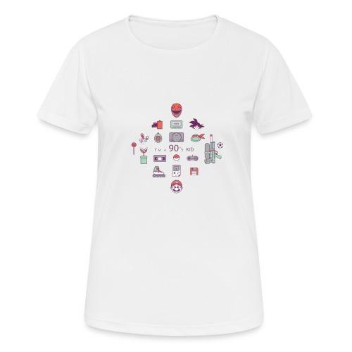 lo mejor de los 90 - Camiseta mujer transpirable