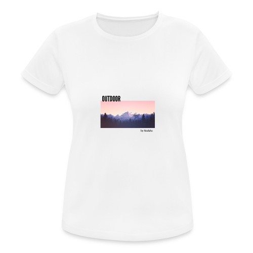 Outdoor - T-shirt respirant Femme