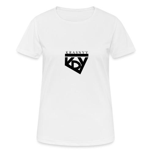 KrasnyyLogo - Frauen T-Shirt atmungsaktiv