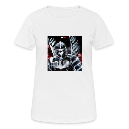 koszulka patriotyczna husaria - Koszulka damska oddychająca