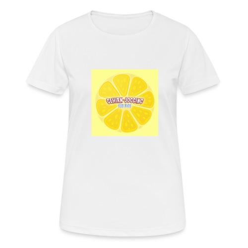 zitronetextur - Frauen T-Shirt atmungsaktiv
