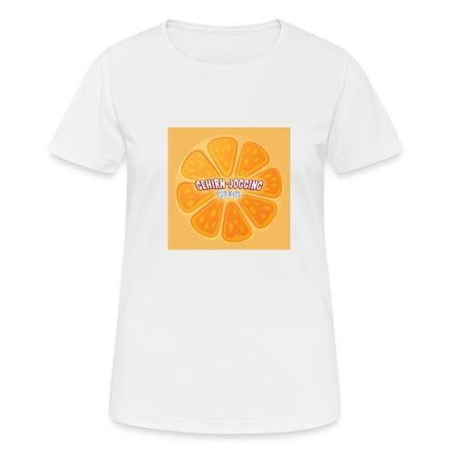 orangetextur - Frauen T-Shirt atmungsaktiv