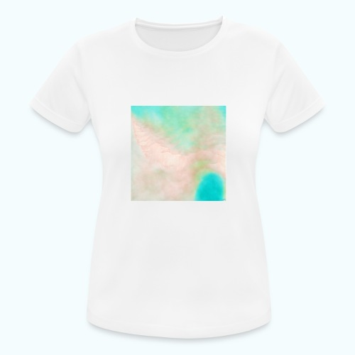 Atoll beach watercolor beige nature - Women's Breathable T-Shirt