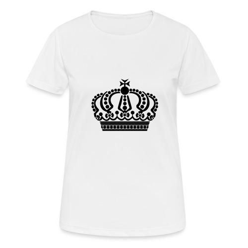 kroon keep calm - Vrouwen T-shirt ademend actief