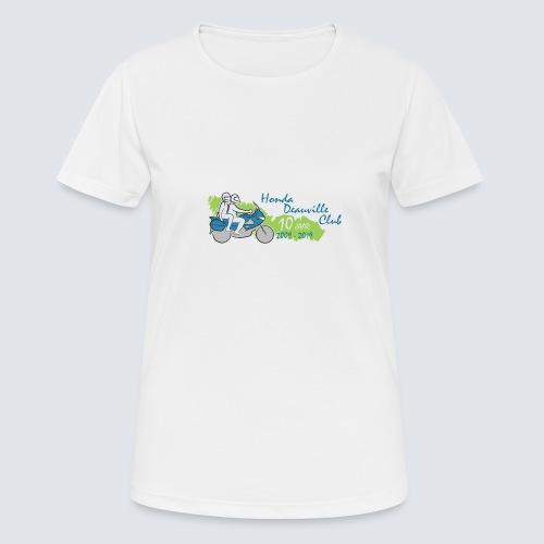 HDC jubileum logo - Vrouwen T-shirt ademend actief