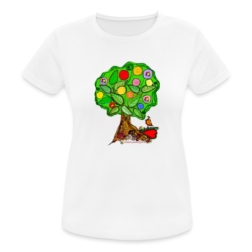 LebensBaum - Frauen T-Shirt atmungsaktiv