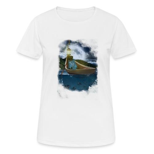 Cay in de boot - vrouwen T-shirt ademend