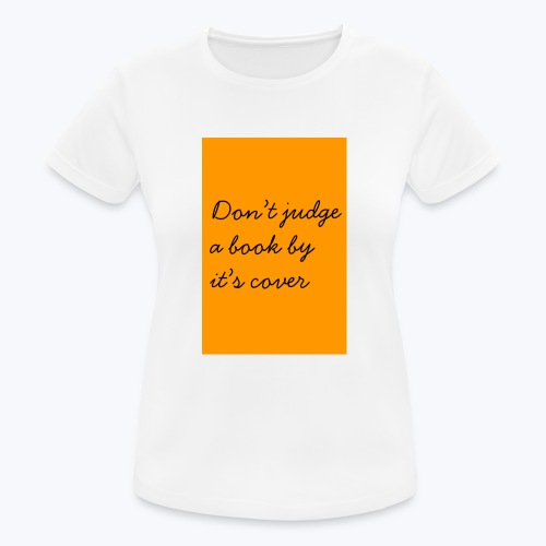 ORANGE DJABBIC - Andningsaktiv T-shirt dam