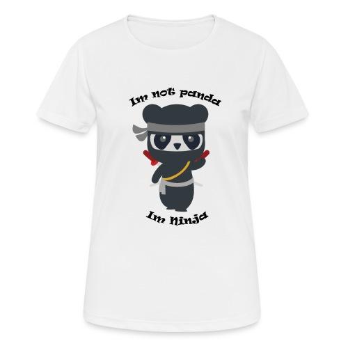 Non sono un Panda - Maglietta da donna traspirante