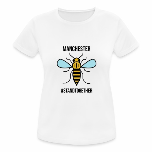 Manchester Bee - Women's Breathable T-Shirt