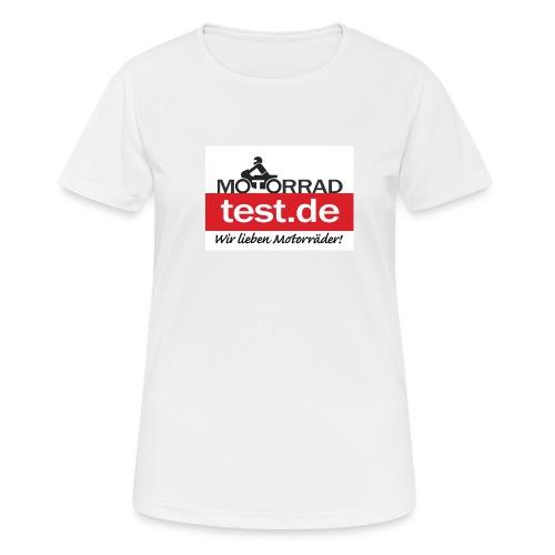 Wir lieben Motorräder! - Frauen T-Shirt atmungsaktiv