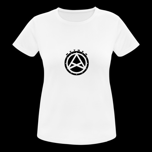 Nether Crew Black\White T-shirt - Maglietta da donna traspirante